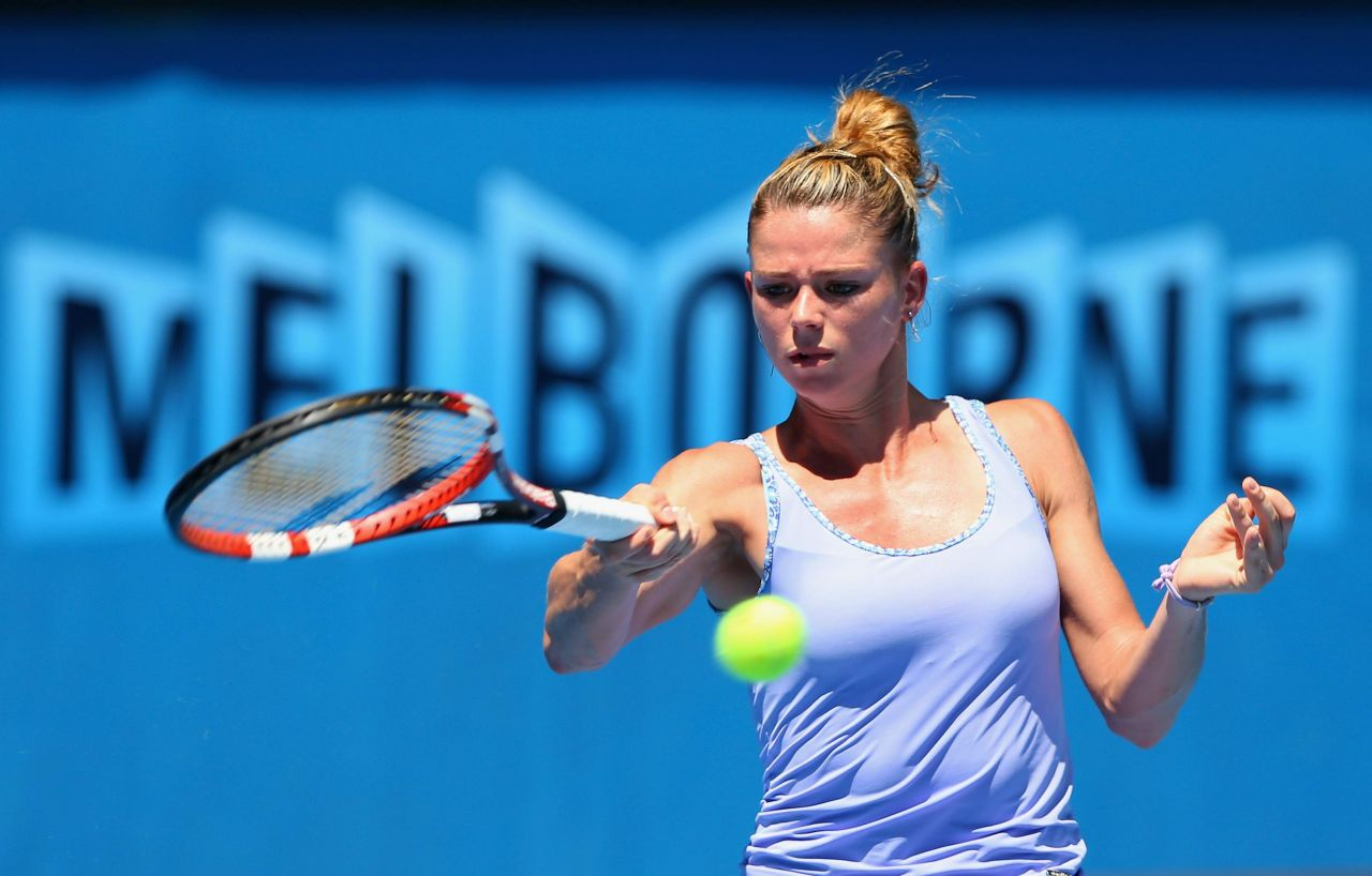 Camila Giorgi Australian Open January 16 2014