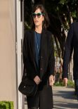 Camilla Belle Street Style - Melrose Place - Jan. 2014