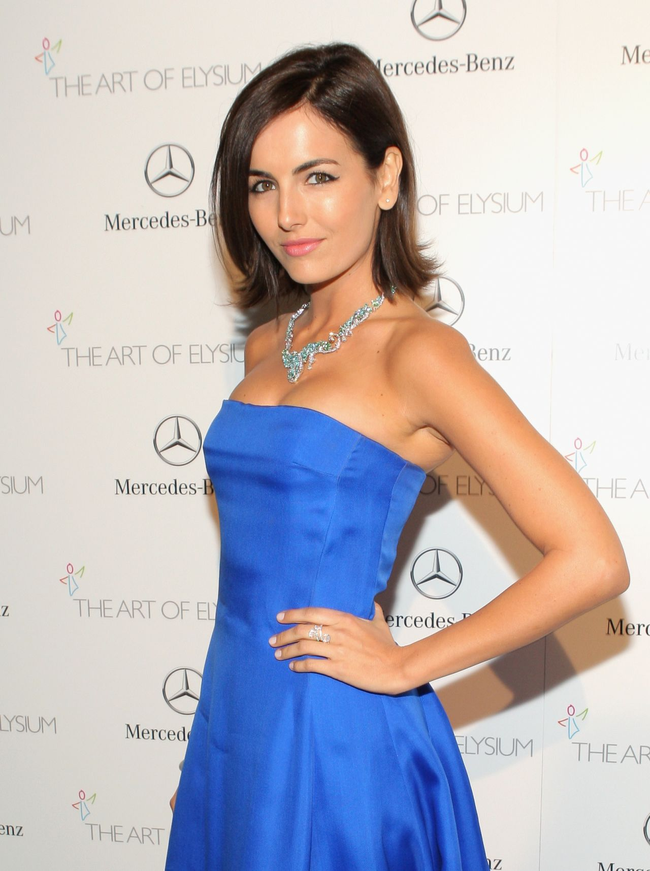Camilla Belle Wears Ralph Lauren at - The Art of Elysium HEAVEN Gala in Los Angeles 2014