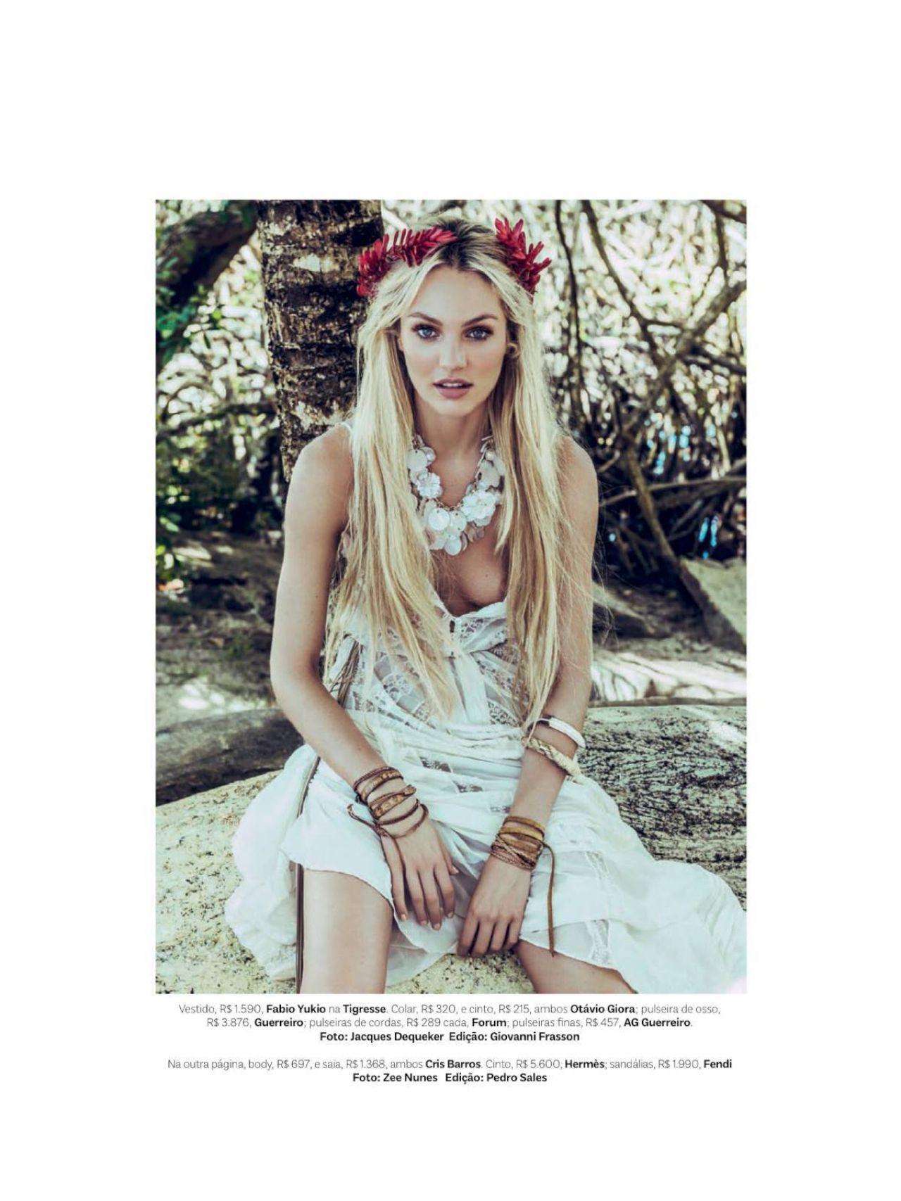 Candice Swanepoel Photoshoot for Vogue Brazil -03 | GotCeleb
