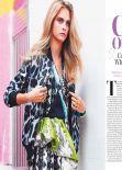 Cara Delevingne - LOOK Magazine (UK) - January 2014 Issue