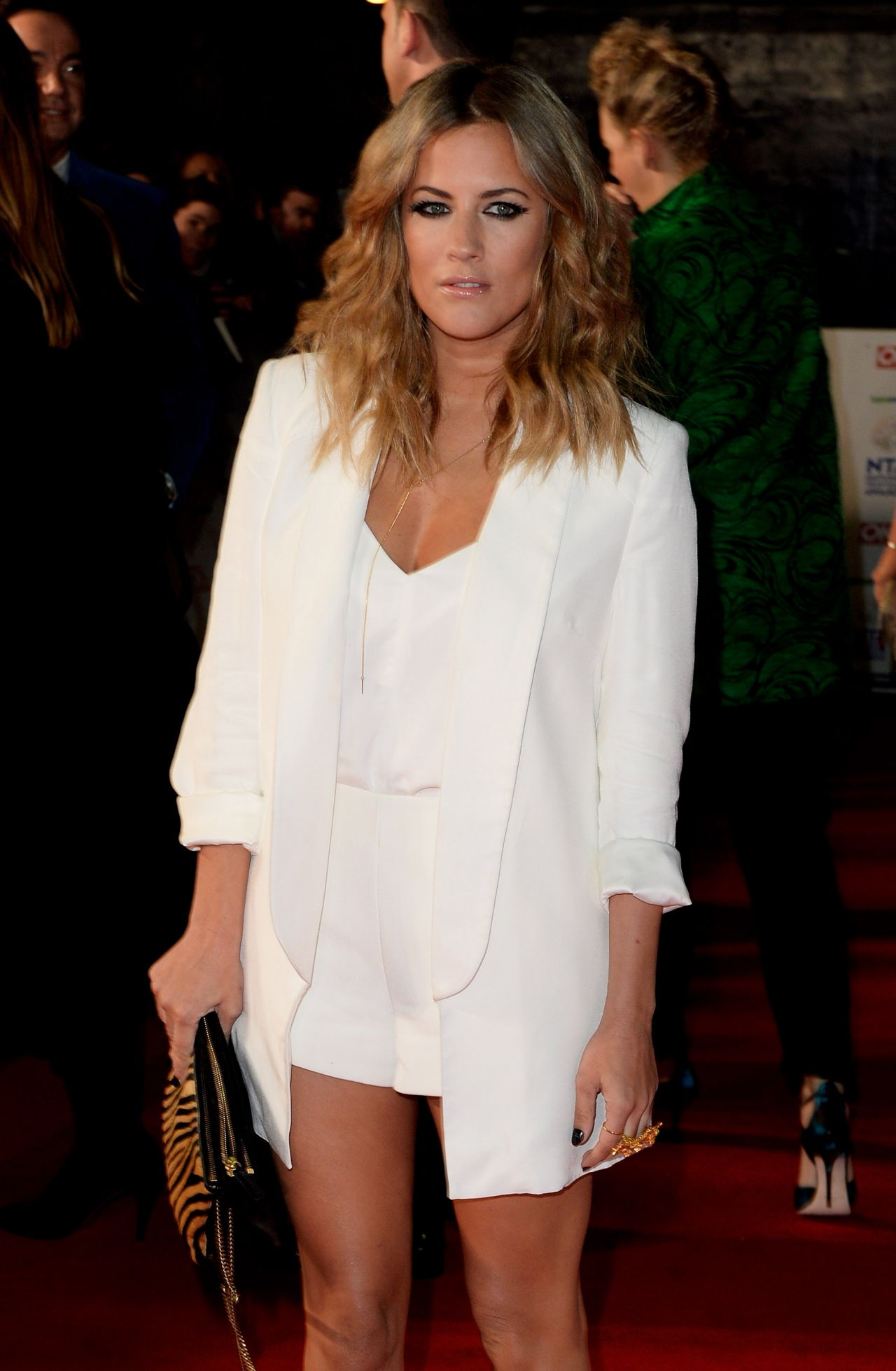 Caroline Flack - National Television Awards in London, January 2014