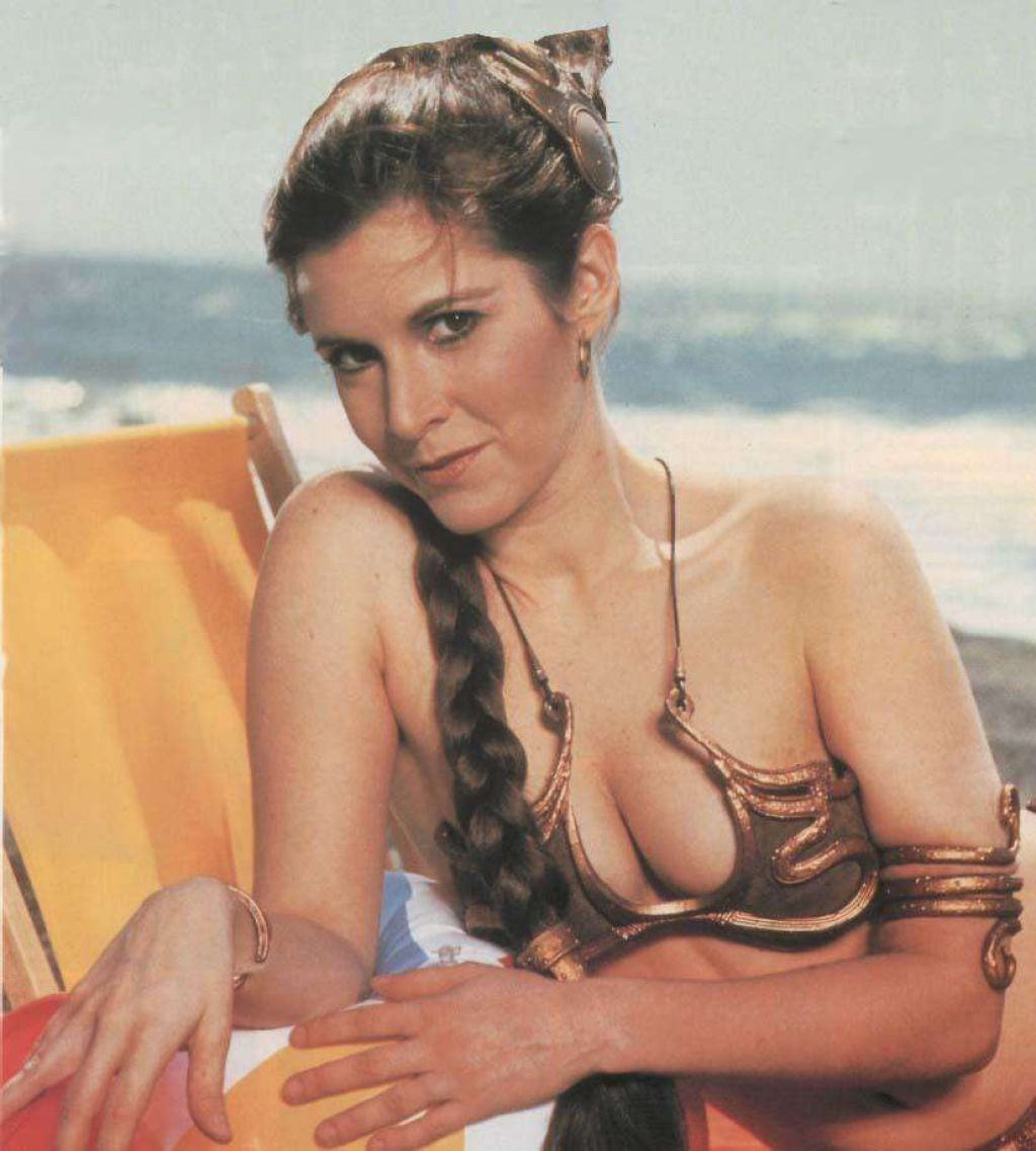 The 26 Sexiest Pics of a Young Carrie Fisher Princess Leia