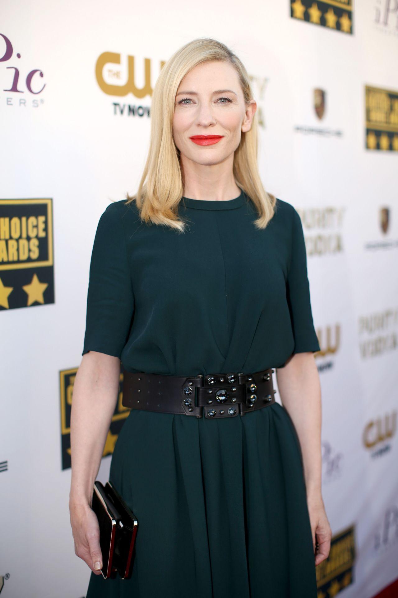 Cate Blanchett - 2014 Critics Choice Movie Awards in Santa Monica