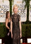 Cate Blanchett at 71st Annual Golden Globe Awards Red Carpet