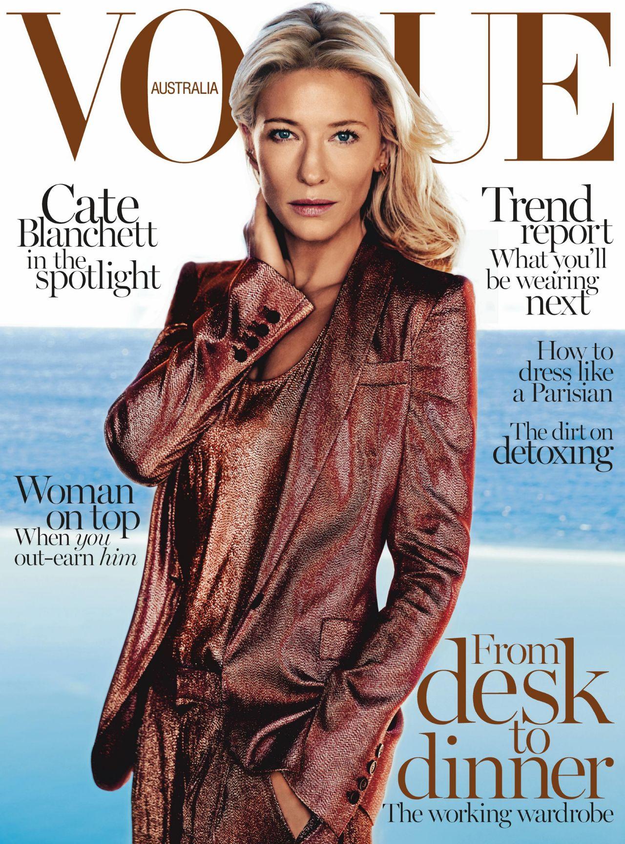 Cate Blanchett - VOGUE Magazine (Australia) - February 2014 Cover