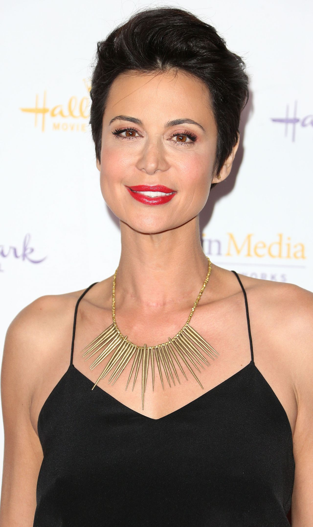 Catherine Bell Attends Hallmark Winter TCA party in San Marino - January 2014