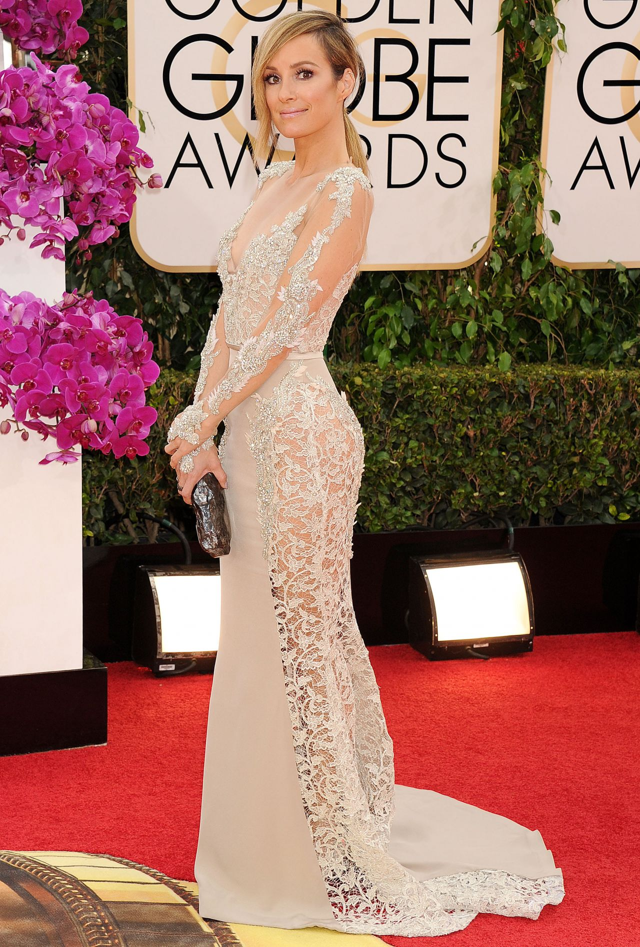 Catt Sadler at 71st Annual Golden Globe Awards, January 2014