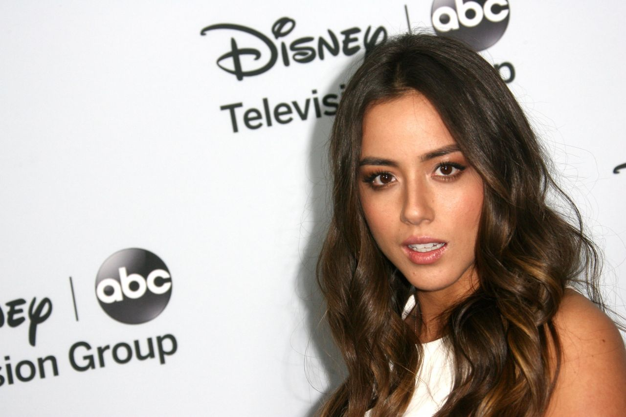 Chloe Bennet at Disney ABC Television Group Host 2014 TCA Winter Press Tour