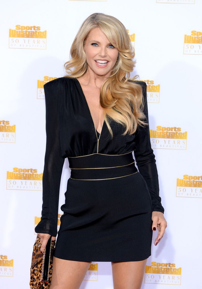Christie Brinkley on Red Carpet - 50th Anniversary of the