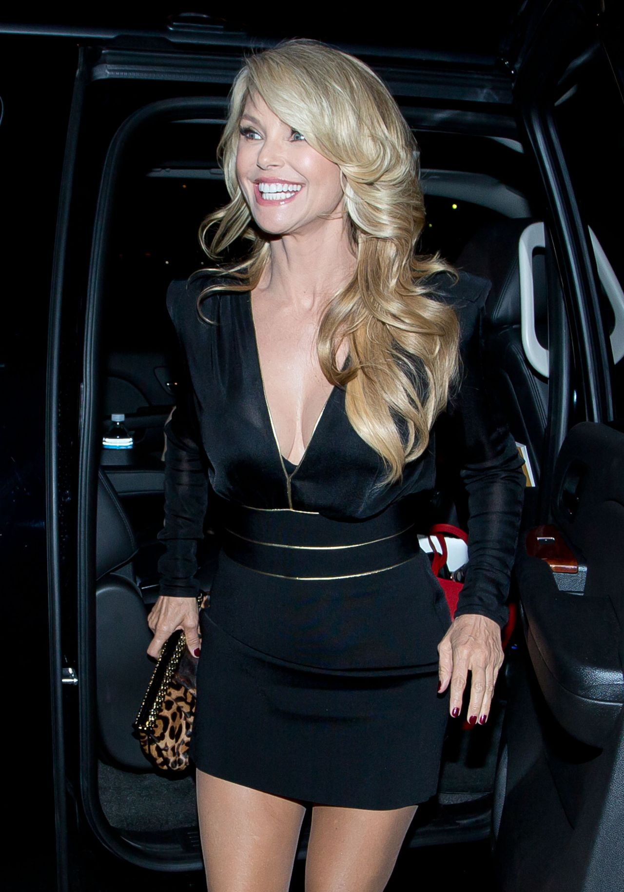 Christie Brinkley Style Lax January 2014