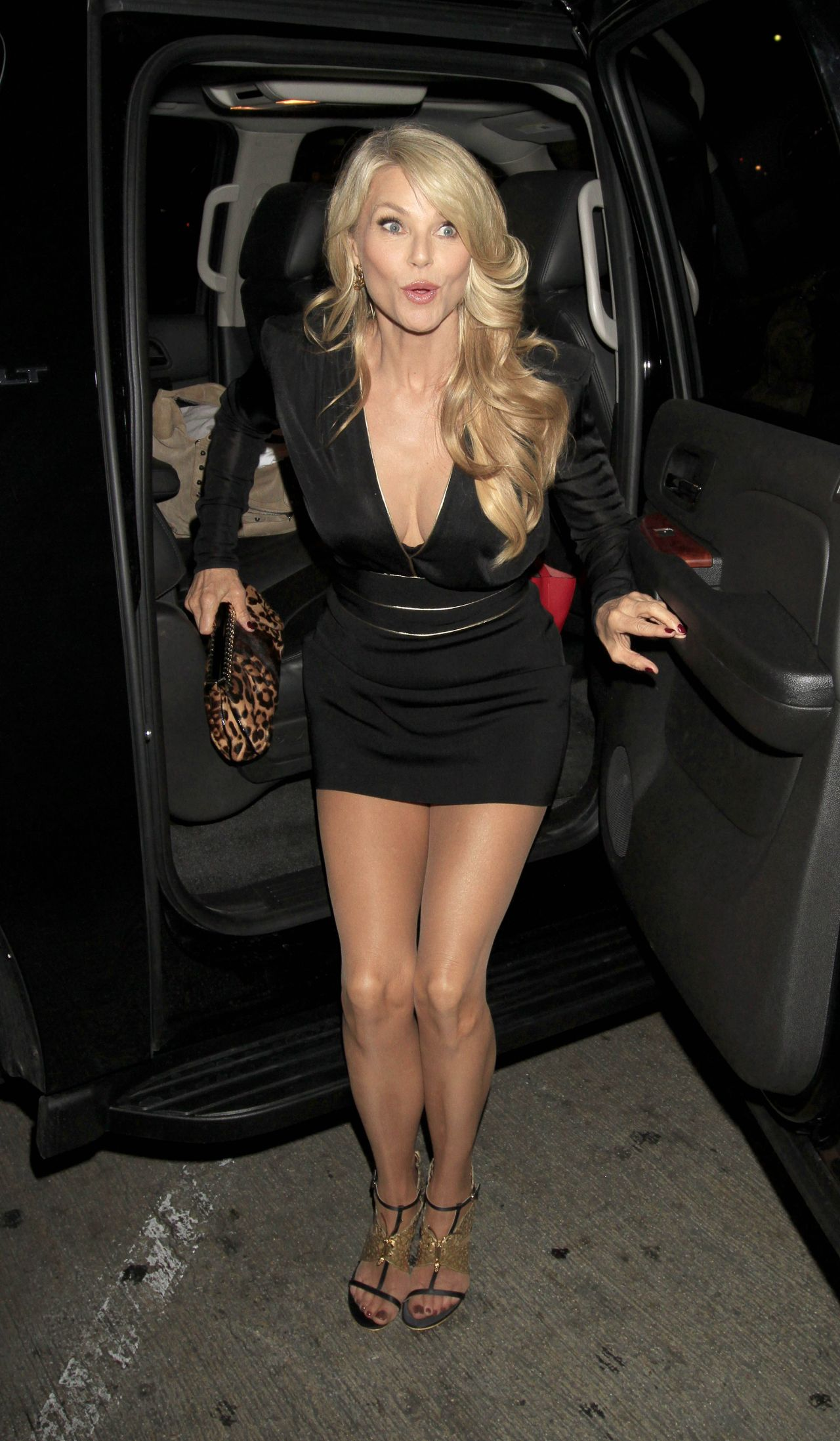 Christie Brinkley Style Lax January 2014