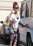 Christina Milian - Dancing with the Stars Rehearsal in LA, January 2014