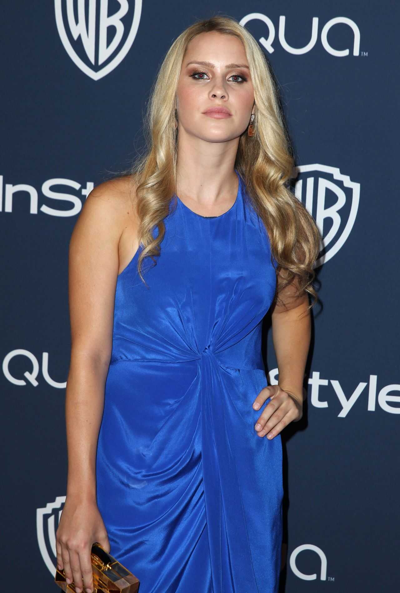 Claire Holt - 2014 InStyle And Warner Bros. Golden Globe Awards After Party
