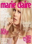 Claudia Schiffer - MARIE CLAIRE Magazine (UK) - March 2014 Issue