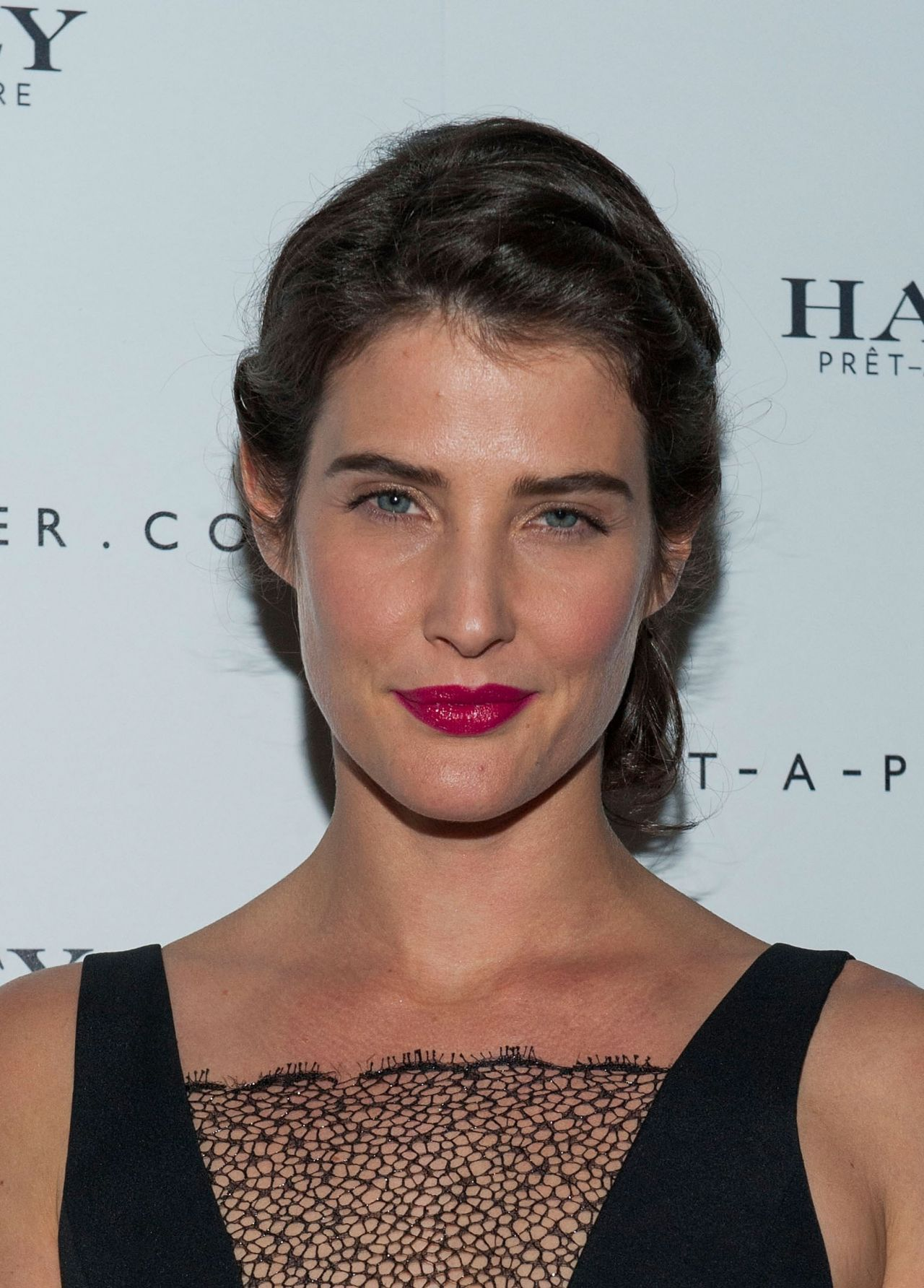 Cobie Smulders at Net-A-Porter Hosts Haney Pret-A-Couture Launch