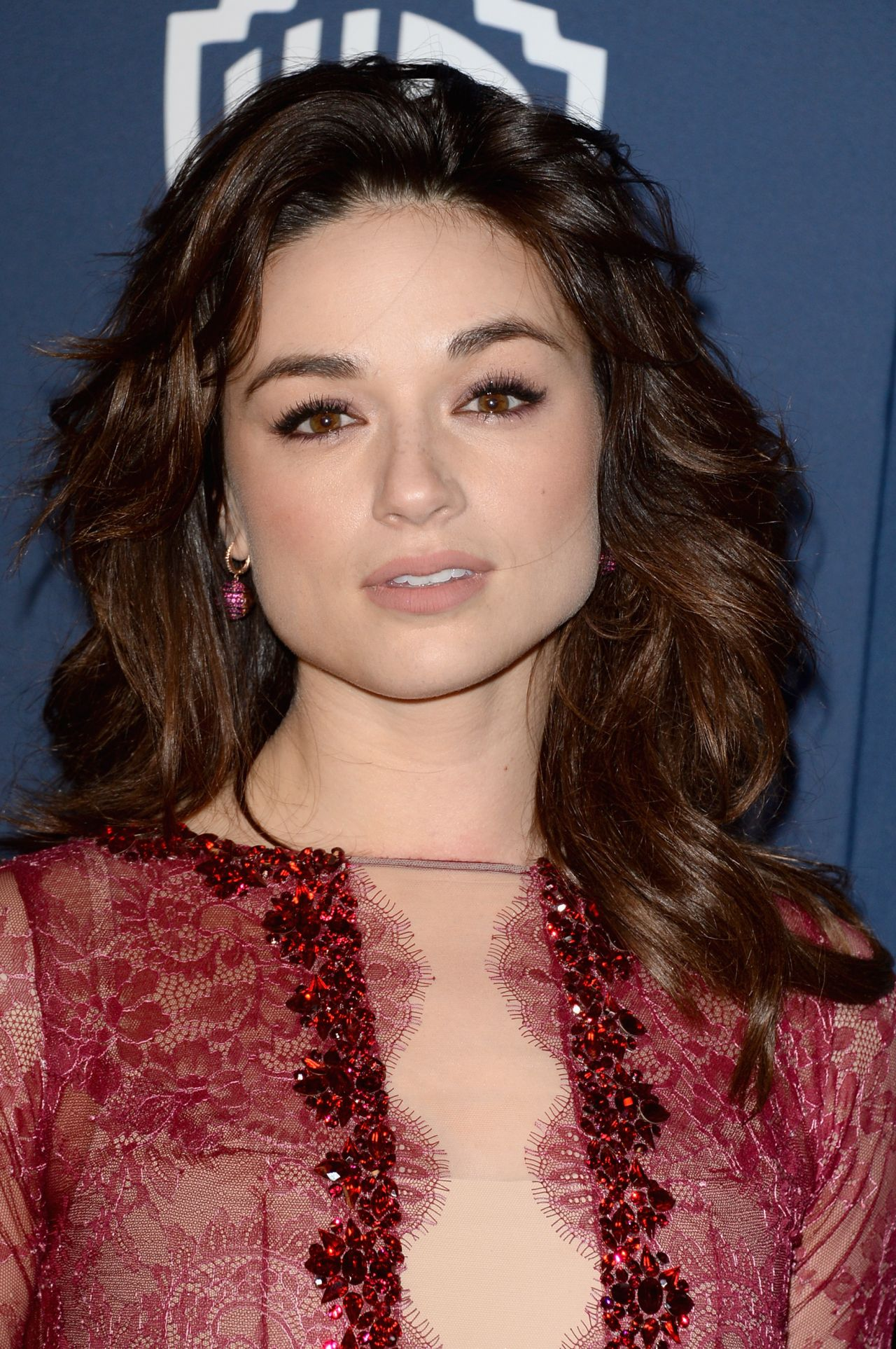 Crystal Reed Golden Globes Afterparty January 2014
