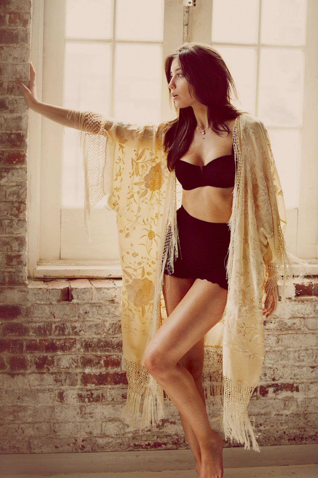 Daisy Lowe - Free People Intimates Photoshoot (2013)