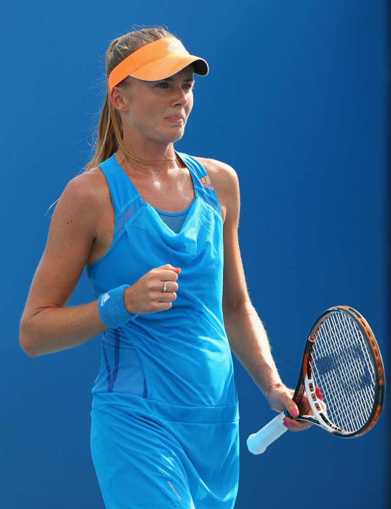 Daniela Hantuchova - Australian Open in Melbourne, January 15, 2014