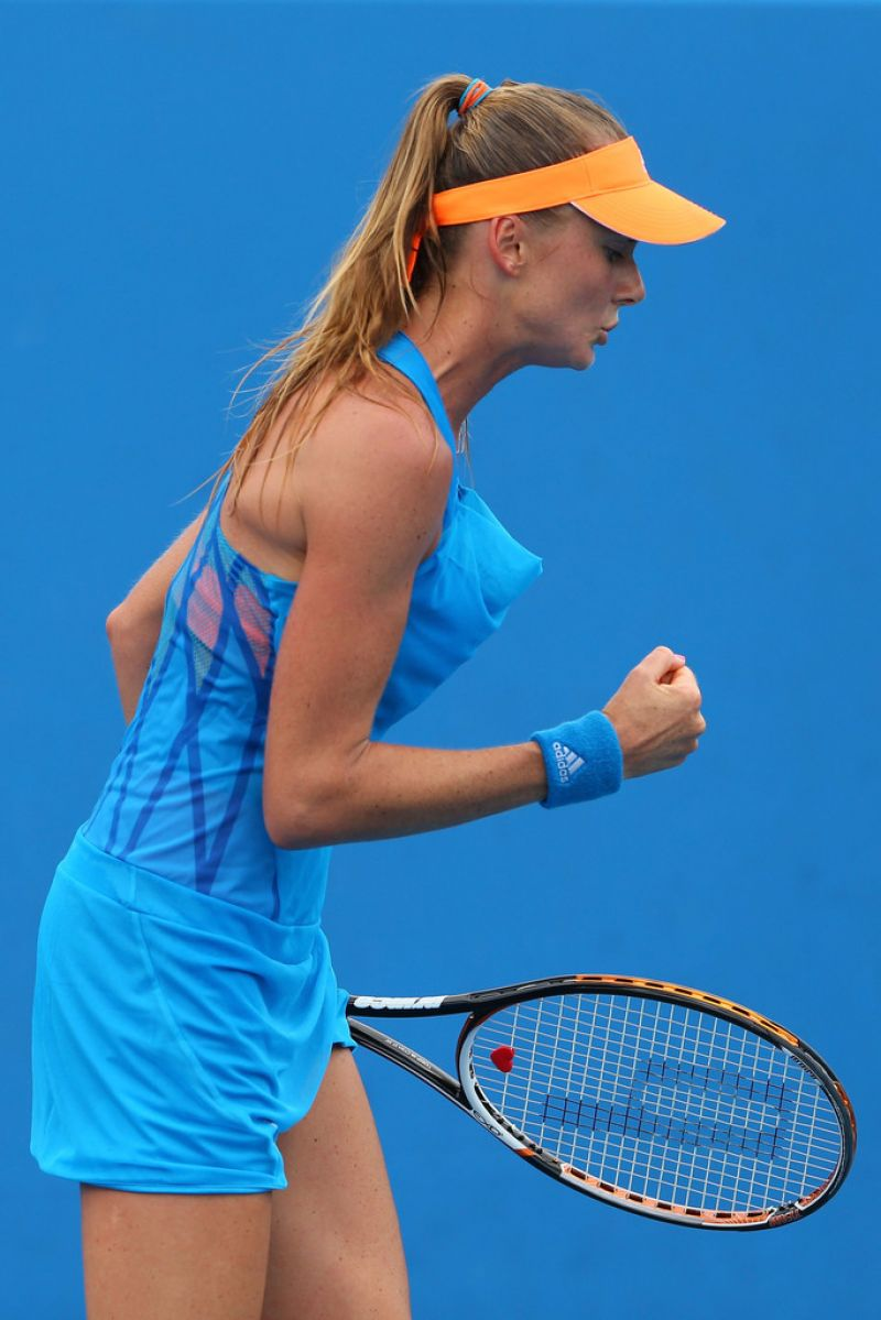 Daniela Hantuchova Australian Open In Melbourne January