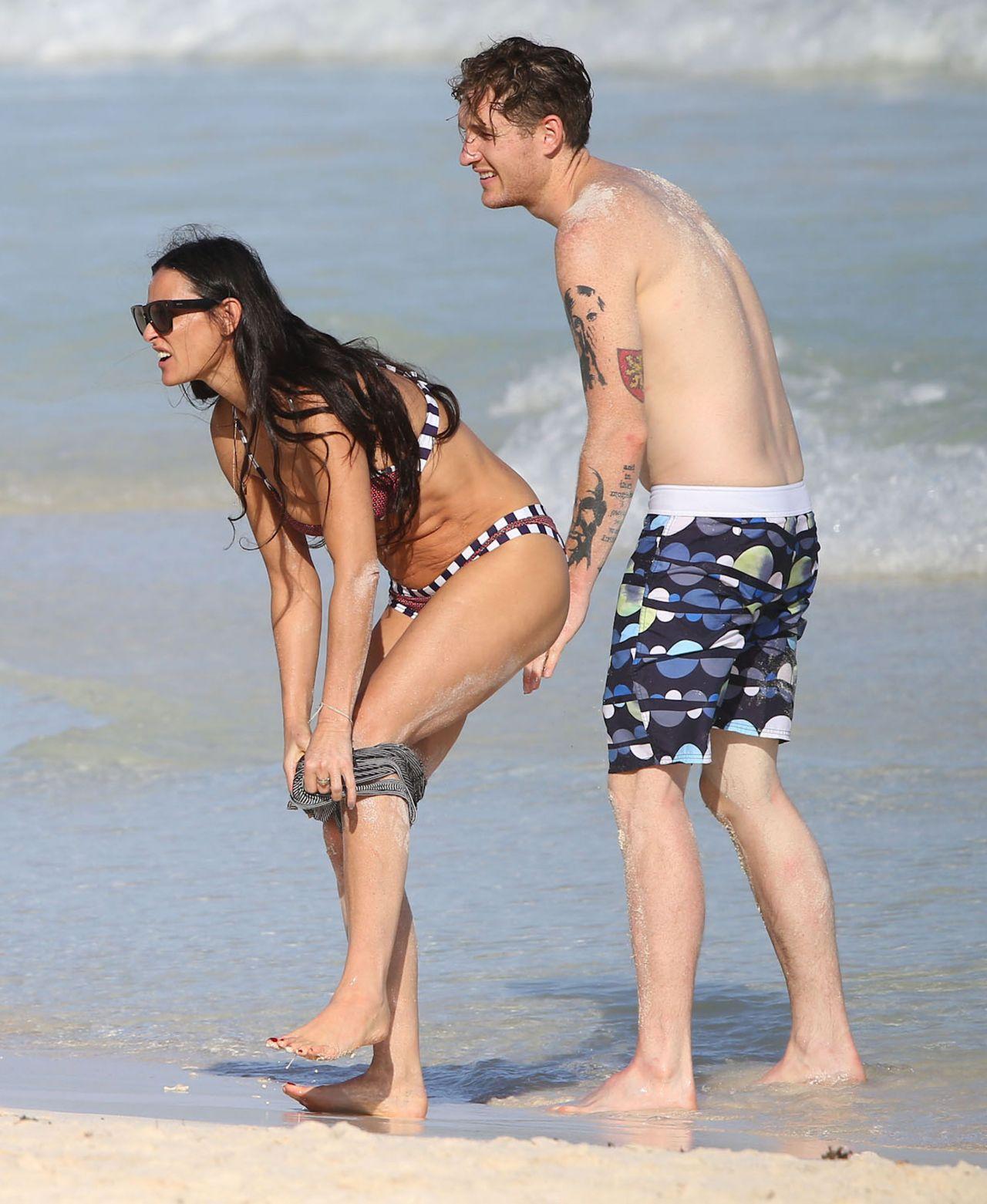 Demi Moore Bikini S Meico January