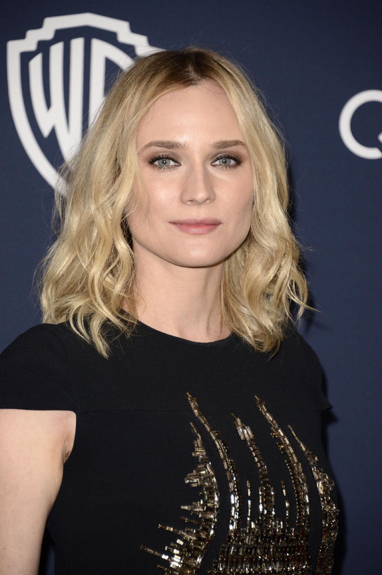 Diane Kruger - InStyle & Warner Bros. 2014 Golden Globes Party