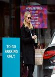 Dianna Agron Street Style Leaving Cafe Gratitude In Los