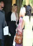 Dianna Agron Style - Dior Luncheon in Los Angeles