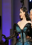 Dita Von Teese - JP Gaultier Haute Couture Fashion Collection in Paris, January 2014