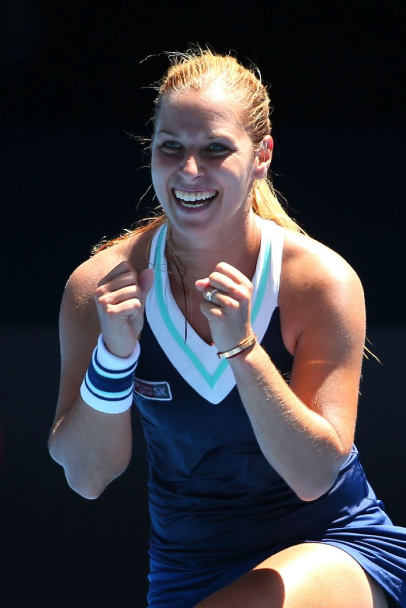 Dominika Cibulkova - Australian Open, January 22, 2014