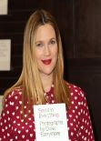 Drew Barrymore Book Signing at Barnes & Noble Bookstore at The Grove, Jan. 2014