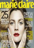 Drew Barrymore - MARIE CLAIRE Magazine - February 2014 Issue