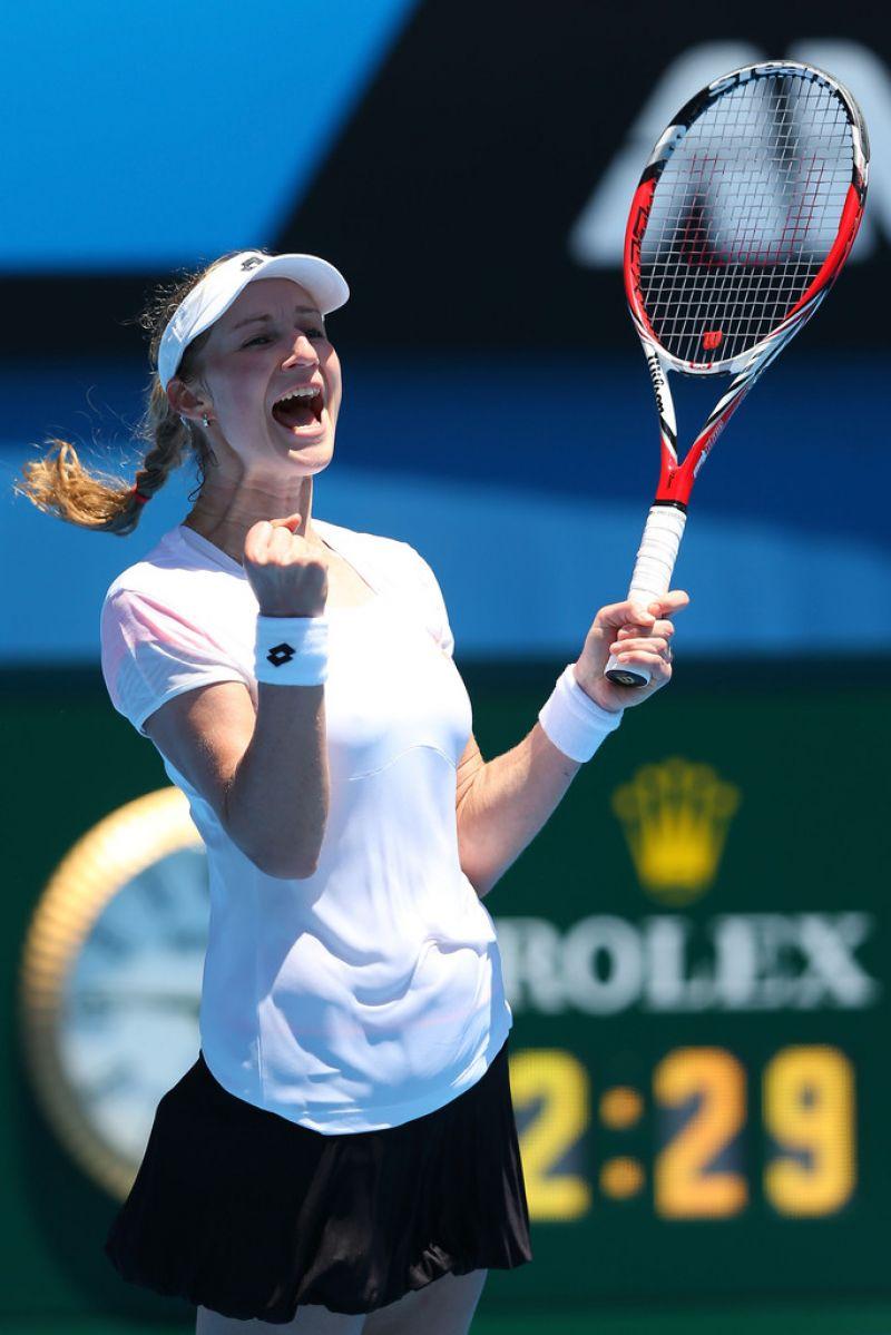 Ekaterina Makarova - Australian Open in Melbourne, Jan 13 2014