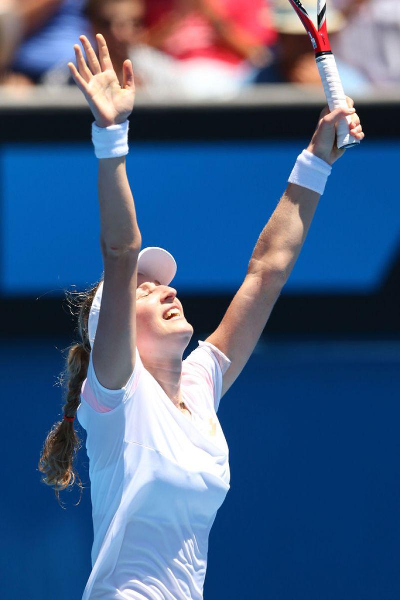 Ekaterina Makarova Australian Open In Melbourne Jan 13 2014