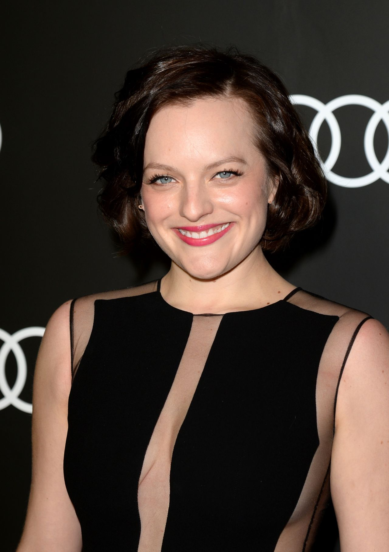 Elisabeth Moss Audi Celebrates Golden Globes Weekend