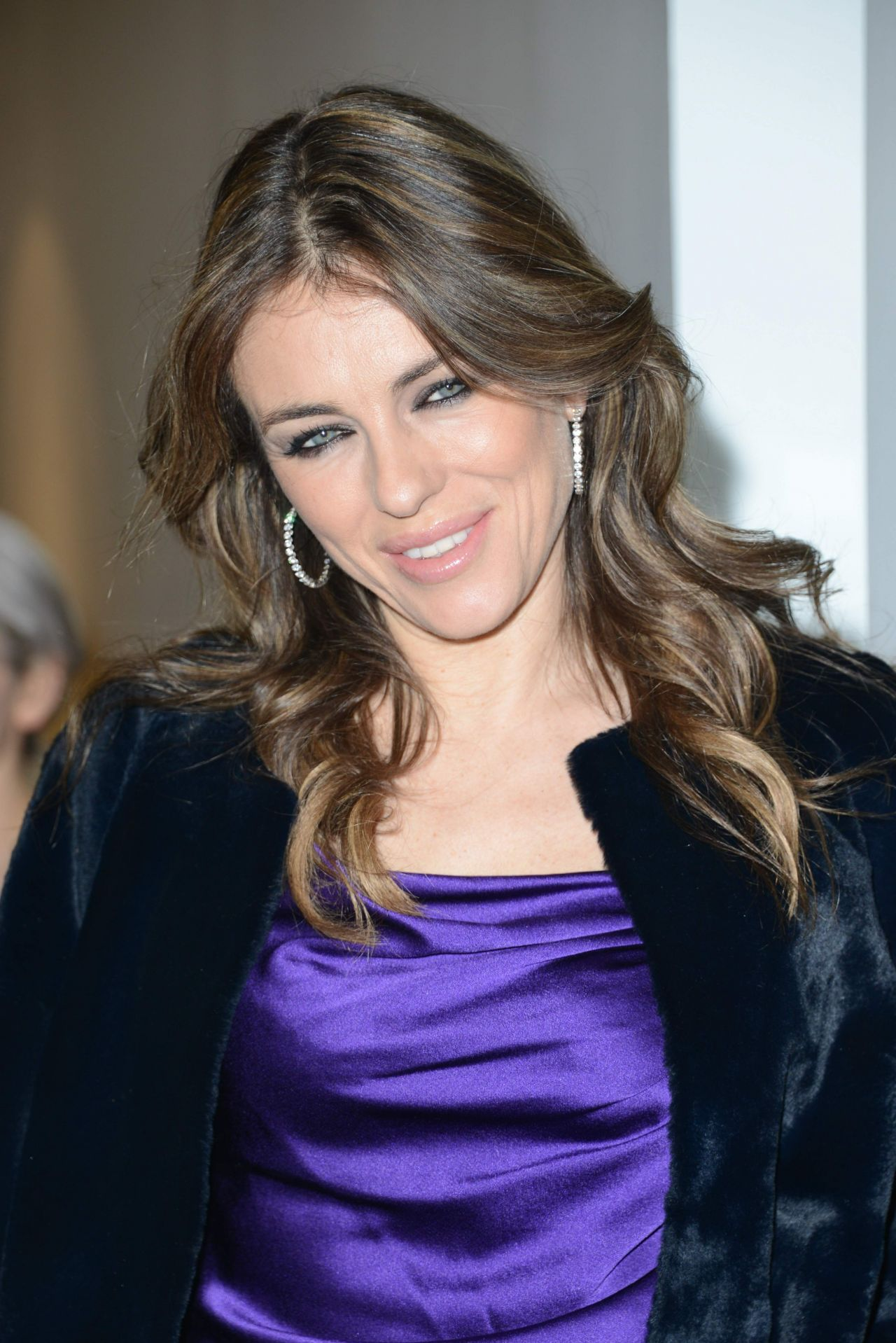 Elizabeth Hurley - Launch of Amanda Wakeley Flagship Store in London - January 2014
