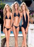 Ellie Gonsalves, Renee Somerfield, Sheridyn Fisher - MAXIM Magazine (Australia) - February 2014 Issue