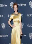 Ellie Kemper at InStyle & Warner Bros. 2014 Golden Globes Afterparty