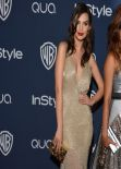 Emily Ratajkowski - InStyle & Warner Bros. 2014 Golden Globes Party