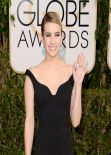 Emma Roberts - 2014 Golden Globe Awards in Beverly Hills