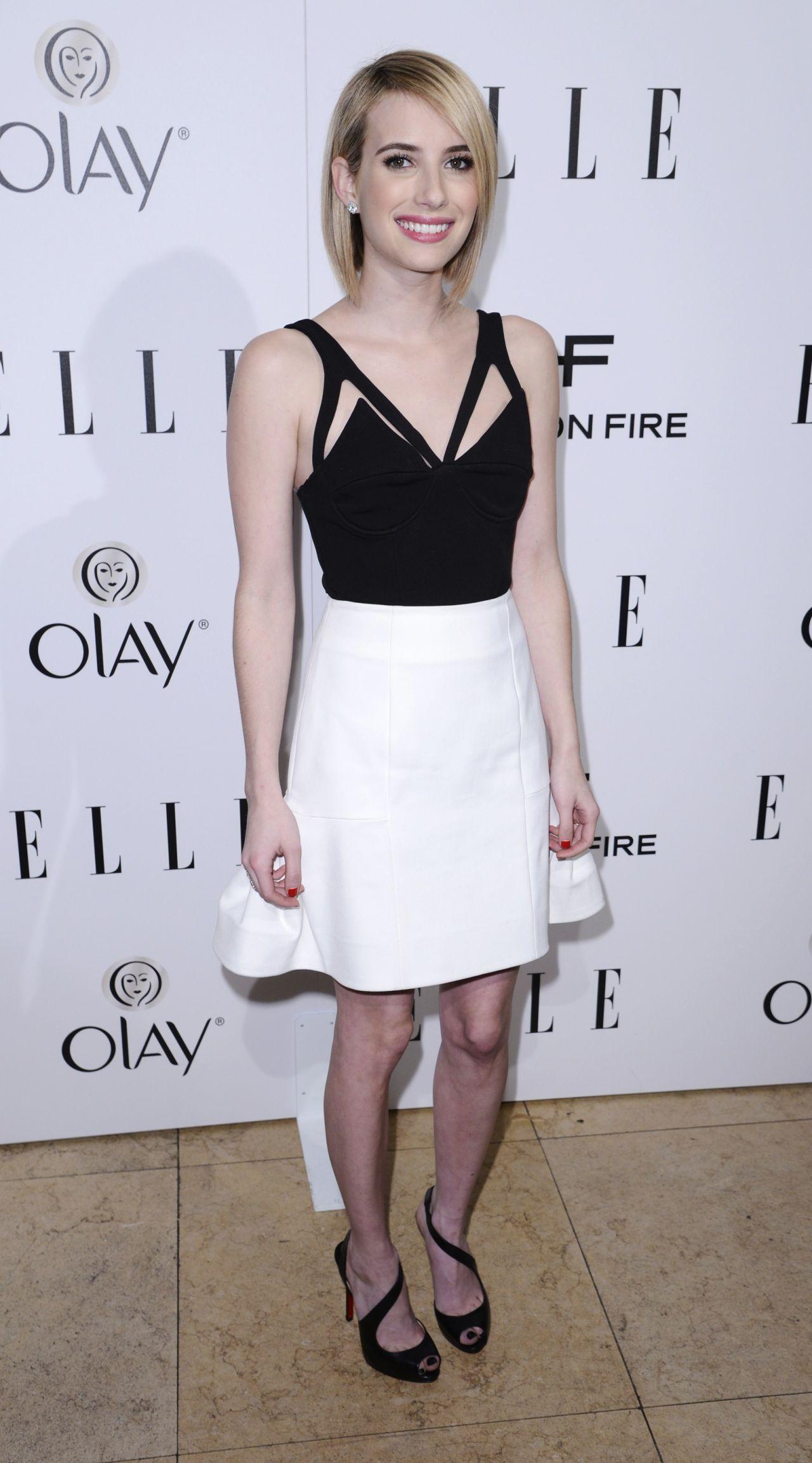 Emma Roberts   ELLE s Annual Emma Roberts Legs