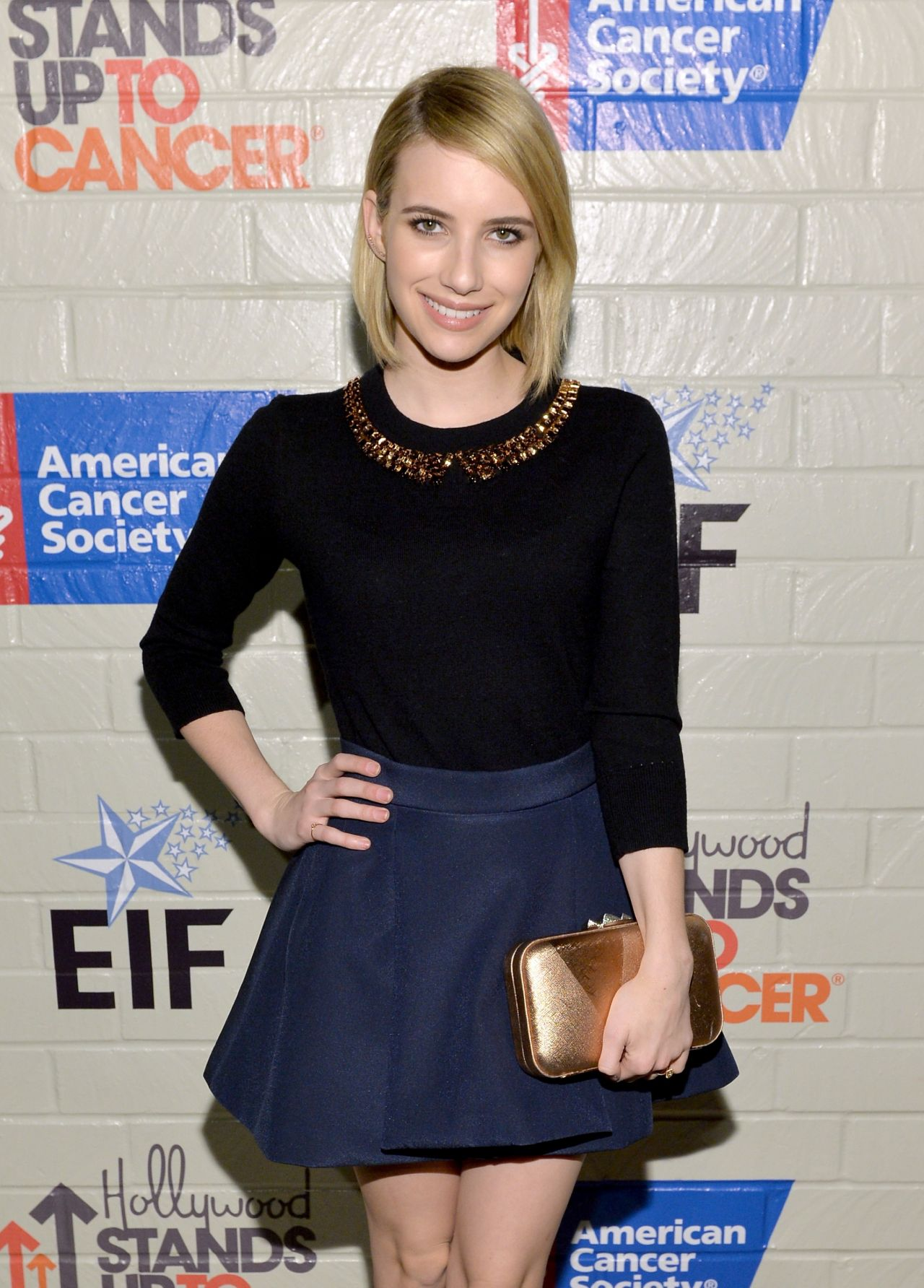 Emma Roberts - Hollywood Stands Up To Cancer Event in Culver City, January 2014