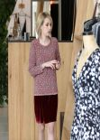Emma Roberts Out For Shopping, January 2014
