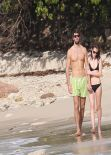 Emma Watson in a Bikini – with New Boyfriend Matt Janney on a Caribbean Beach. January 2014 (106 Photos!)
