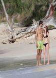 Emma Watson in a Bikini – with New Boyfriend Matt Janney on a Caribbean Beach. January 2014 (106 Photos!)