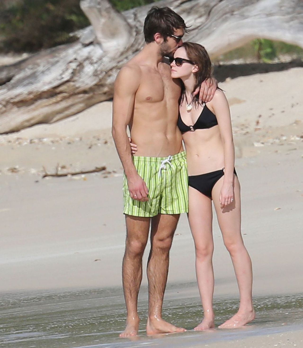 Emma Watson in a Bikini - With New boyfriend on Holiday. January 2014