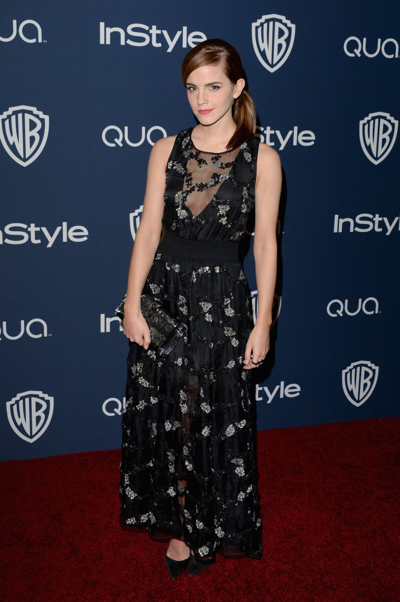Emma Watson - InStyle & Warner Bros. 2014 Golden Globes Afterparty in Beverly Hills