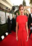 Emma Watson Wears Christian Dior Couture at 2014 Golden Globe Awards (Part II)