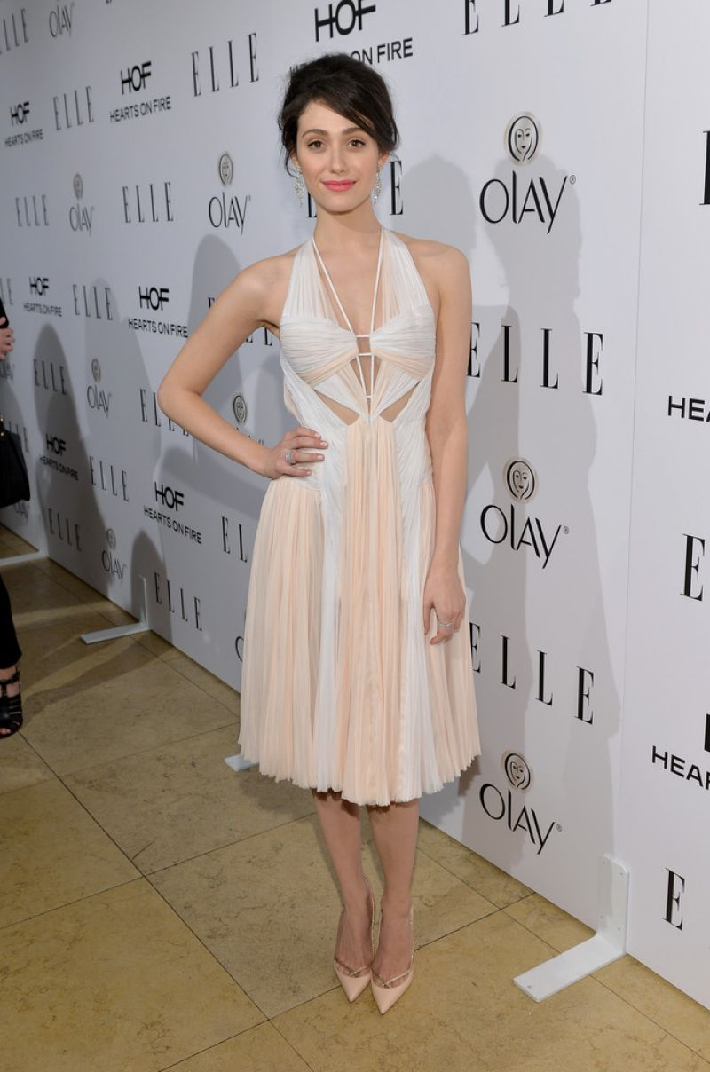 Emmy Rossum - ELLE's Annual Women in Television Celebration, January 2014
