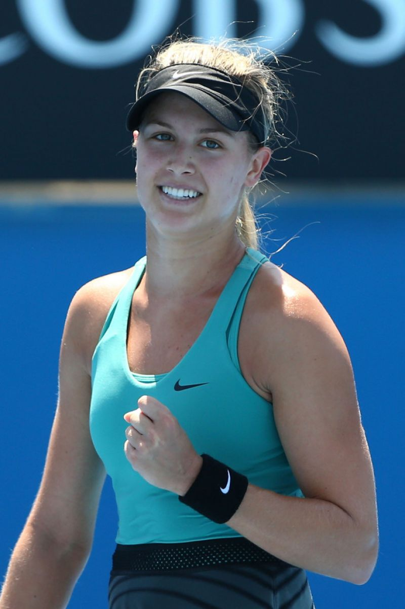 Eugenie Bouchard - Australian Open in Melbourne, January 17, 2014